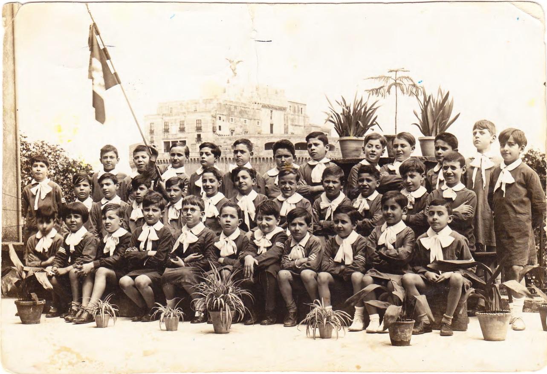 Angelo Masciotta 1933 scuola elementare A. Cadlolo Roma
